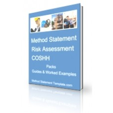 Method Statement, Risk Assessment and COSHH Pack