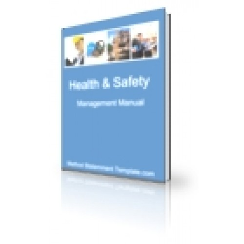 health and safety manual for cleaning company